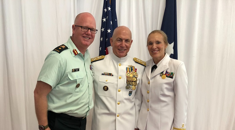 Retirement Ceremony for Admiral Kurt W. Tidd and USSOUTHCOM Change of Command Ceremony