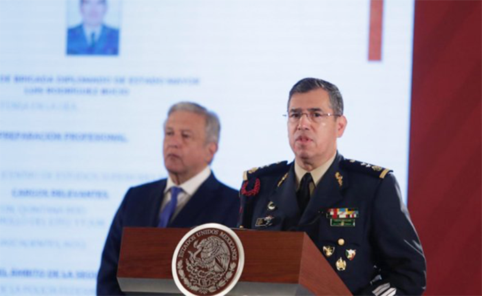 General Luis Rodríguez Bucio is appointed by the President of Mexico as Commander of the National Guard