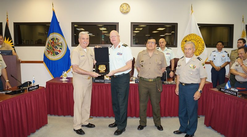Visits of the Center for Higher Naval Studies and Defense School of Mexico