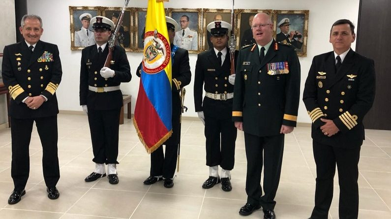 Visit of the Director General to the Colombian Navy Command