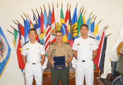 IADB hosts Cadets from the Brazilian Naval School