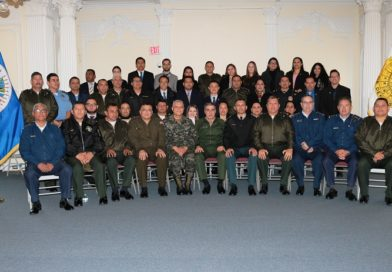 National Defense College and the Command and General Staff School of Honduras visit the IADB.