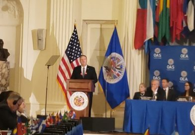 IADB participated in an event at the OAS with the Secretary of State of the United States of America