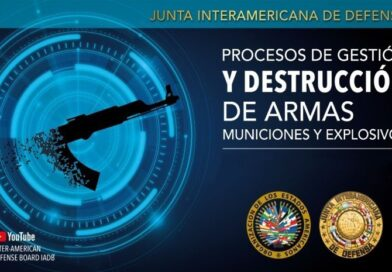 IADB held a webnar on Processes for the Management and Destruction of Arms, Ammunition and Explosives