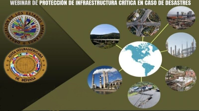 IADB held webinar on Critical Infrastructure Protection in Case of Disasters