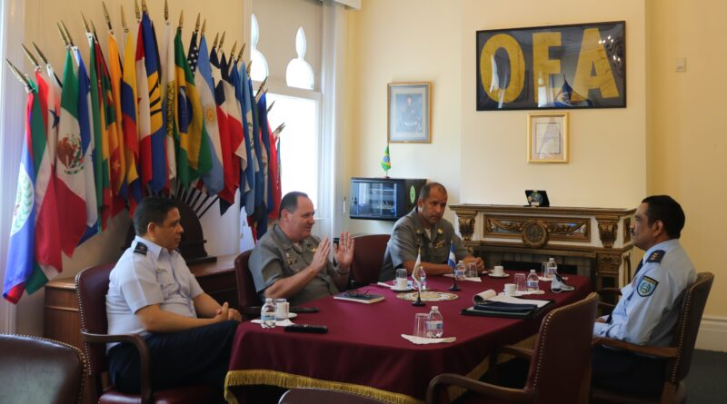Chairman of the Council of Delegates receives delegations
