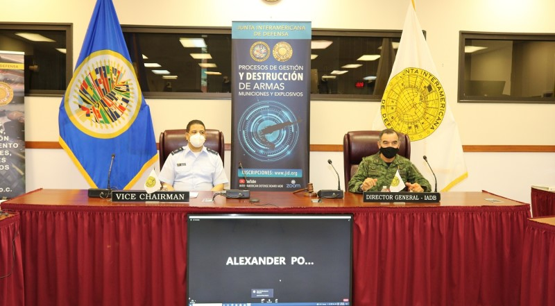 Inter-American Defense Board holds conference on Processes for the Management, Security and Destruction of Ammunitions and Explosives