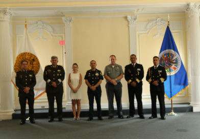 Visit to the IADB of the Mexican Military Delegation,  the Headquarters of the North American Aerospace and Defense Command, and the U.S. Northern Command.